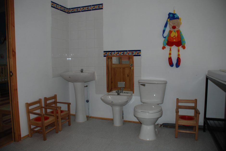 Sala de Hábitos Higiénicos Sala Cuna