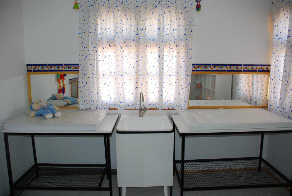 Sala de Muda Sala Cuna